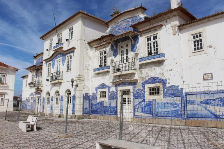 Train station of Aveiro