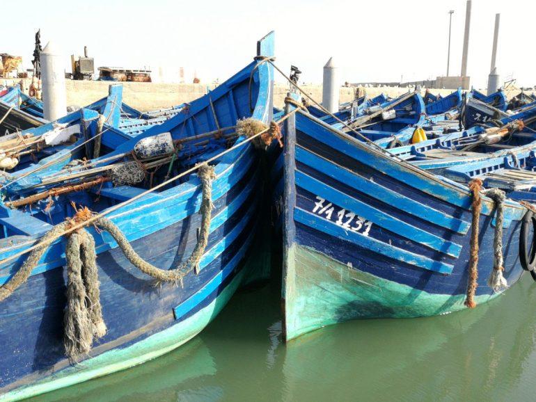 Boats Essaouira Morocco