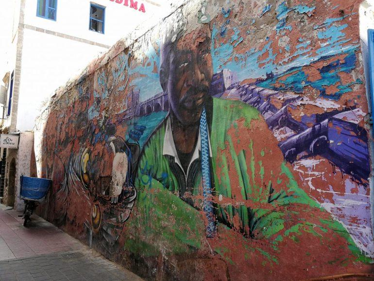 Essaouira Morocco street art 7
