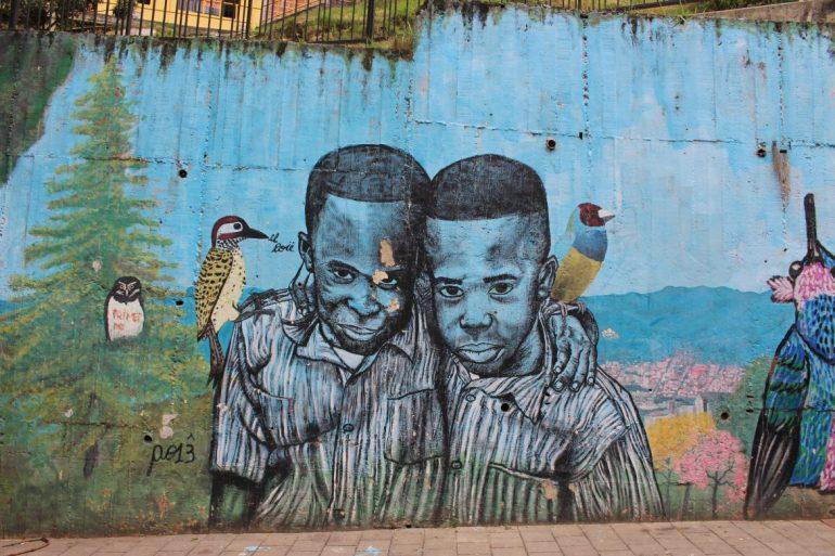 Street art Medellin Comuna 13 4