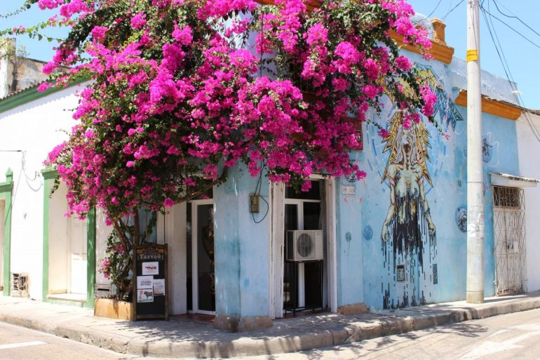 San Diego flower house Cartagena things to do