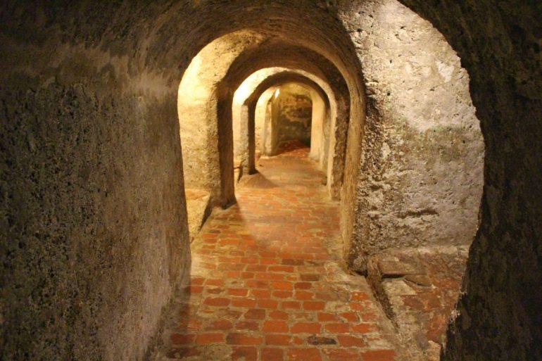 Tunnels fortress Cartagena