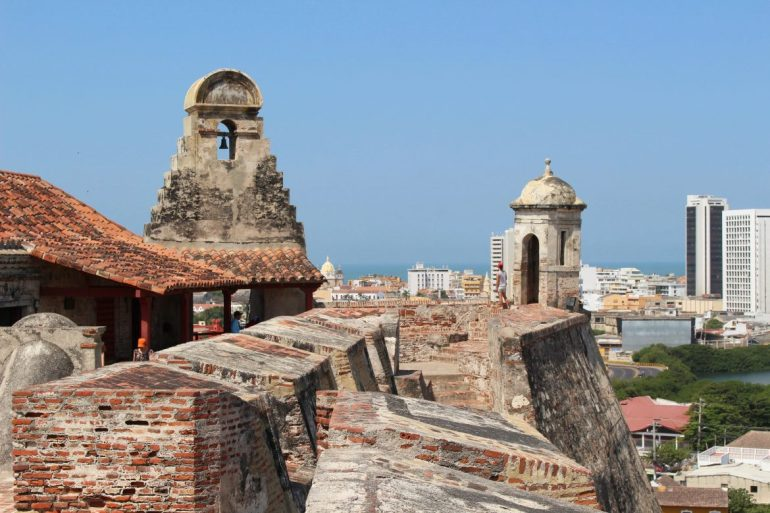 View fortress Cartagena things to do