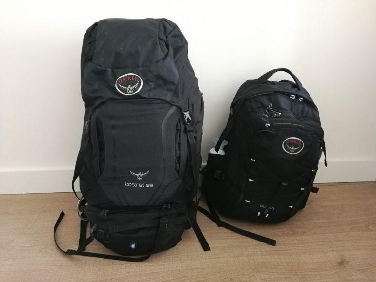 Backpacks wereldreis Bali
