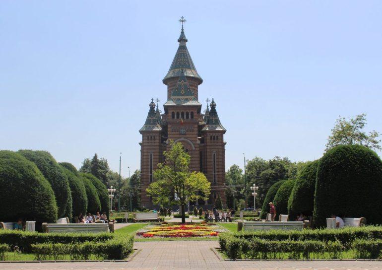 Timisoara cathedral Romania
