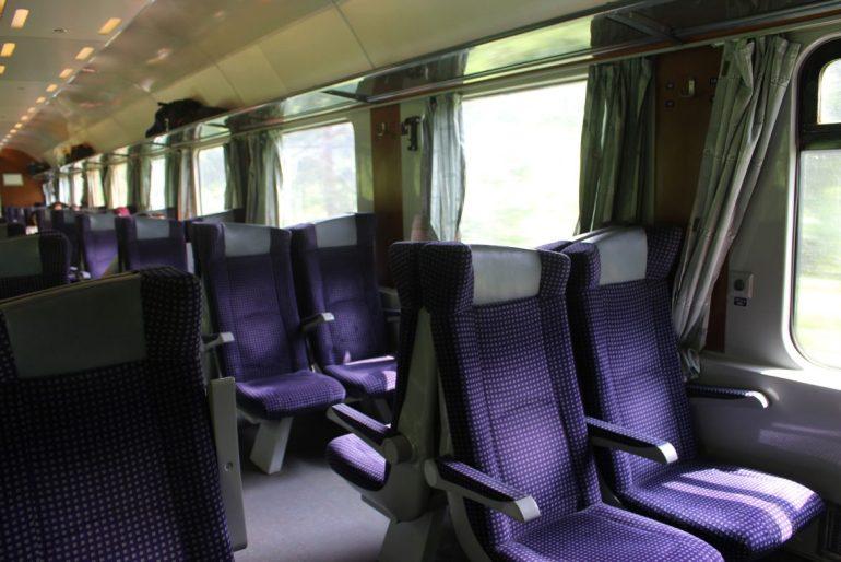 Trein in Roemenie