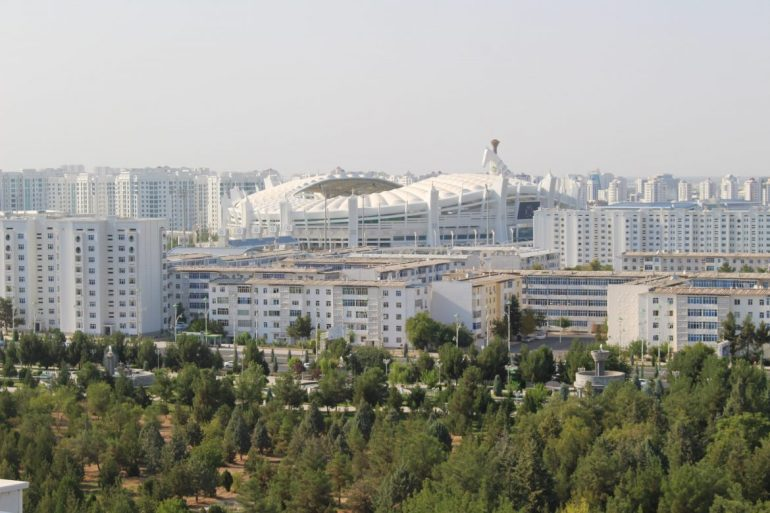 Marmer Turkmenistan wereldreis