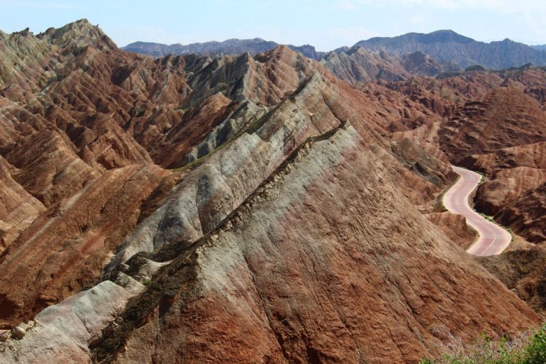Danxia National Park China wereldreis