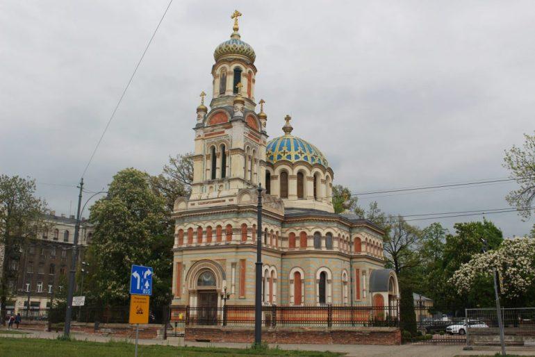 Lodz church Poland