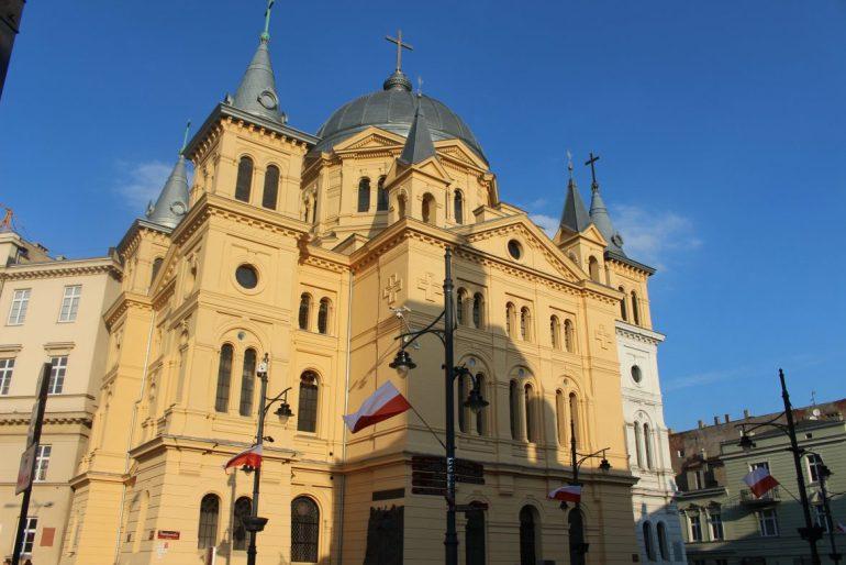 Lodz church Polen