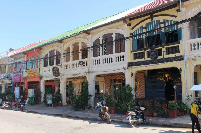 Kampot Cambodia architecture