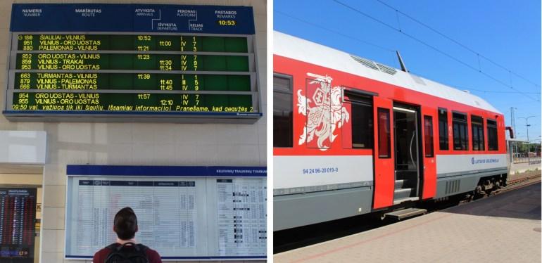Lithuania train travel