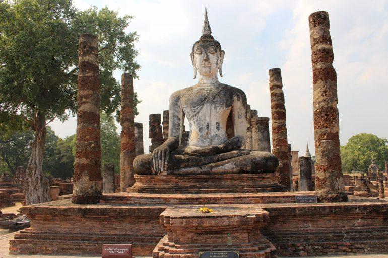 Sukhothai Thailand temple wereldreis