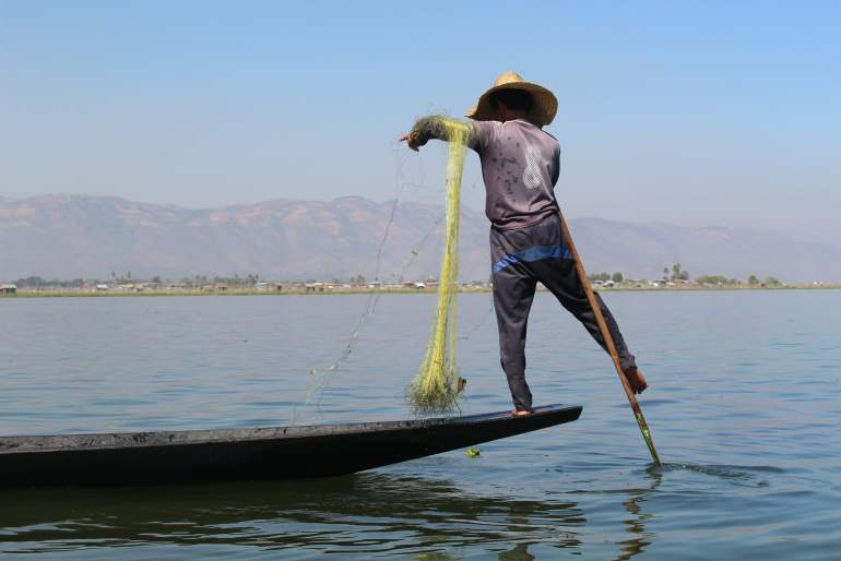 Inle Lake Fishermen Myanmar