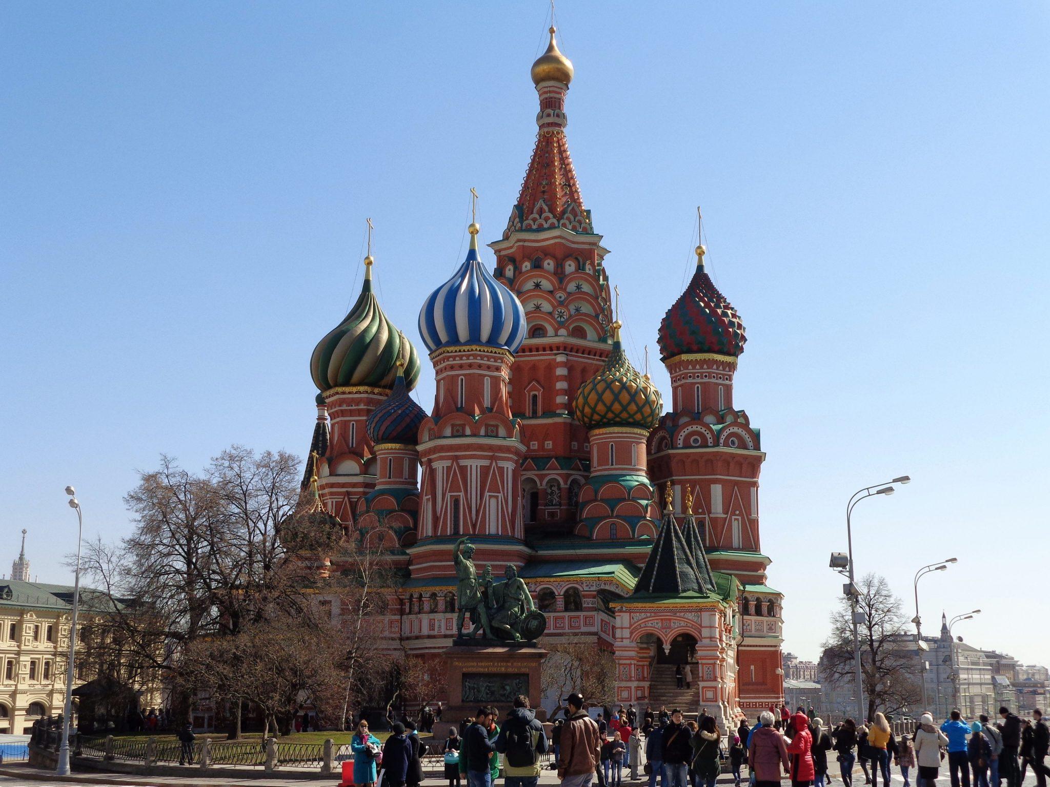 Moskou St. Basil kathedraal