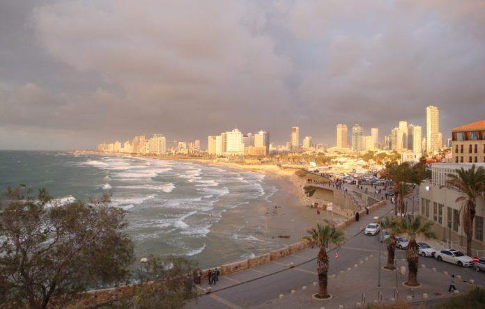 blog golly&bossy - Izrael - panorama Tel Aviv