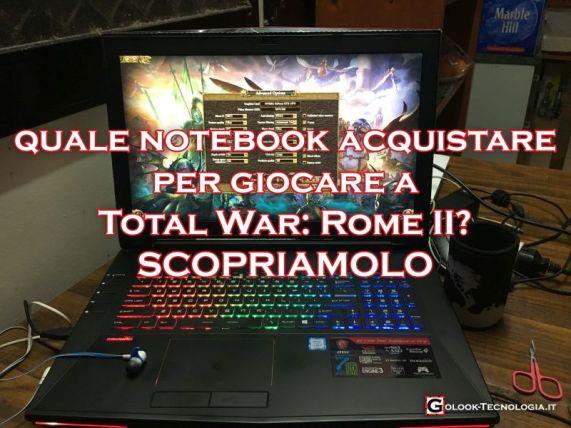 Notebook Total War Rome 2