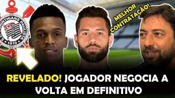Revelado! Jô tenta Negociar vinda ao Brasil em Definitivo, Felipe, Luan- Notícias do Corinthians
