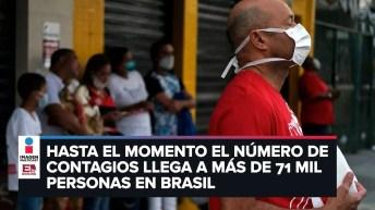 Brasil supera a China en número de muertos I Noticias Internacionales