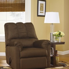 Ashley Furniture Morandi Mocha Sofa How To Remove Stain From Darcy Cafe And Rocker Recliner Majik Rent Own
