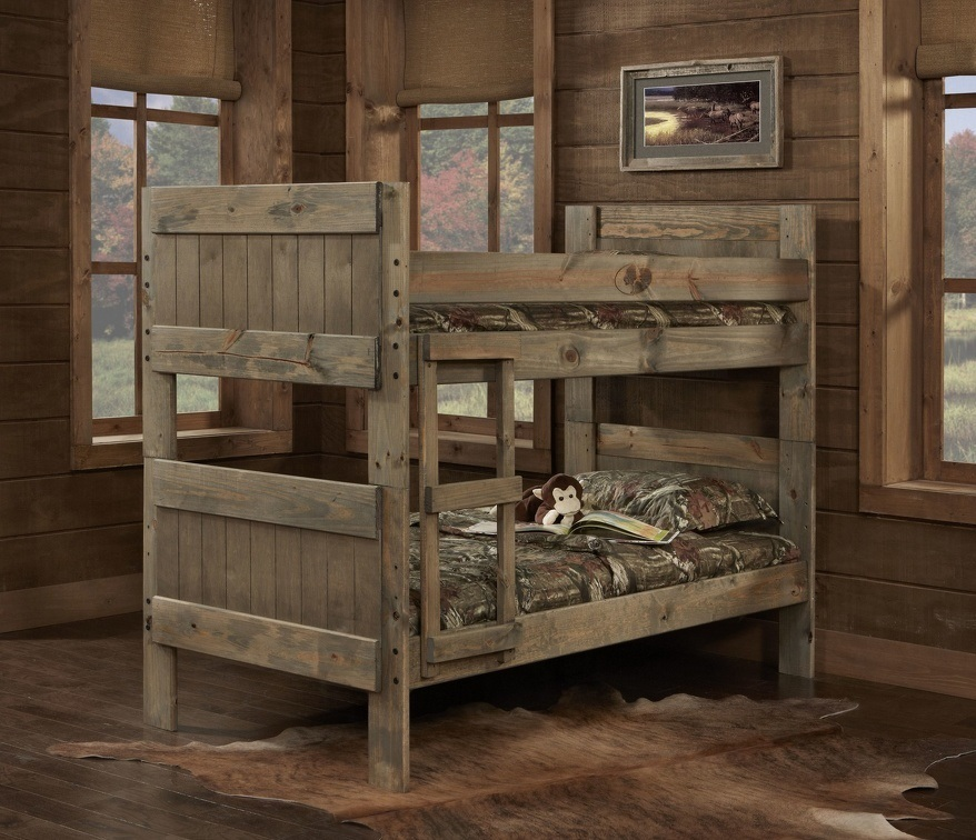 Majik Mossy Oak TwinTwin Bunk Bed Rent To Own