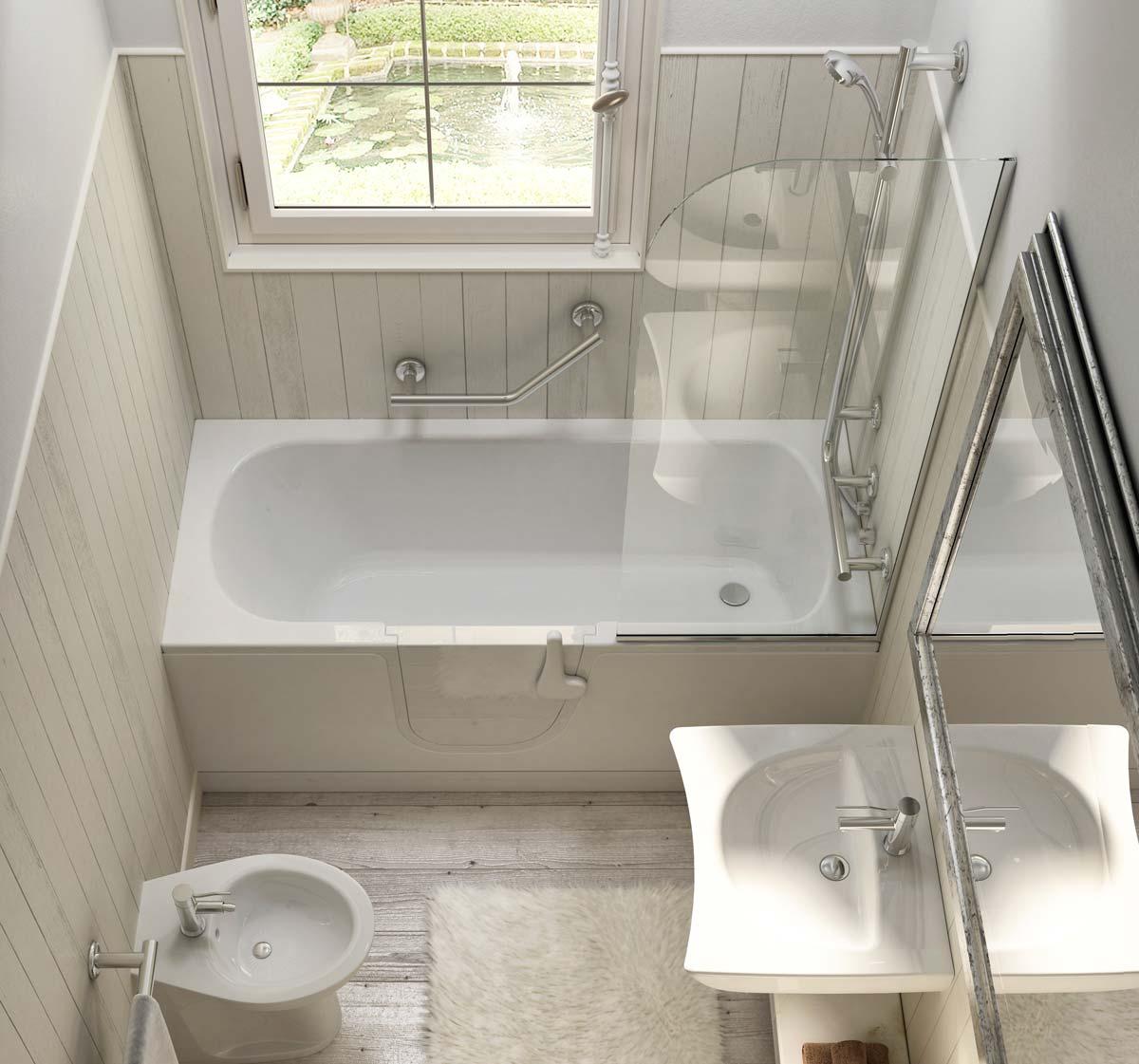 Bathtubs with door for the elderly  Goman