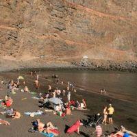 Fallece ahogada una mujer de 81 años en la playa de Vueltas de Valle Gran Rey