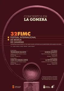 conciertos del festival de música de Canarias en La Gomera