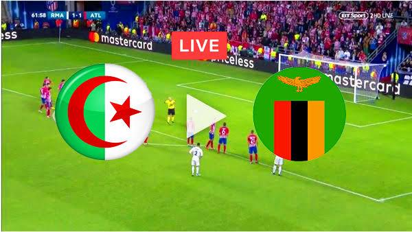 يلا شوت مباراة الجزائر وزامبيا اليوم Yalla Shoot مشاهدة مباراة