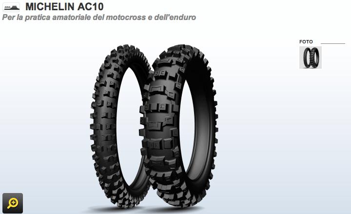 [OFFERTA OFF-ROAD] Michelin AC10 a 72€!!!