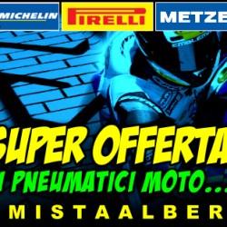 SUPER OFFERTA PNEUMATICI MOTO - Agosto 2015