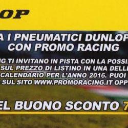 Prova in pista i pneumatici DUNLOP con PROMO RACING