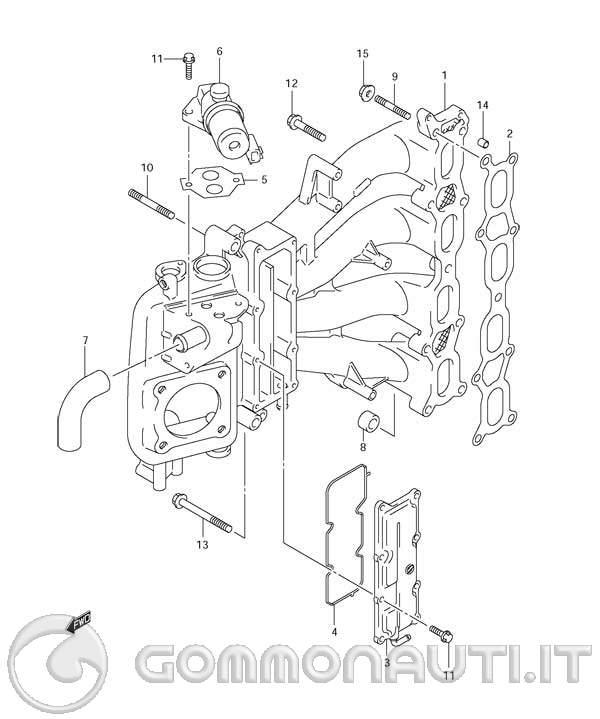 Motore Marino Suzuki 140 Cv
