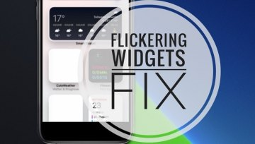 HOW TO FIX FLICKERING (FLASHING) WIDGETS ON IPHONE IN IOS 14