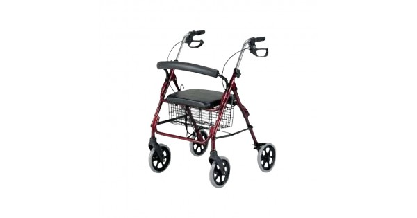 Four Wheeled Rollator