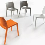 Bontempi Aqua Dining Chair Contemporary Dining Chairs