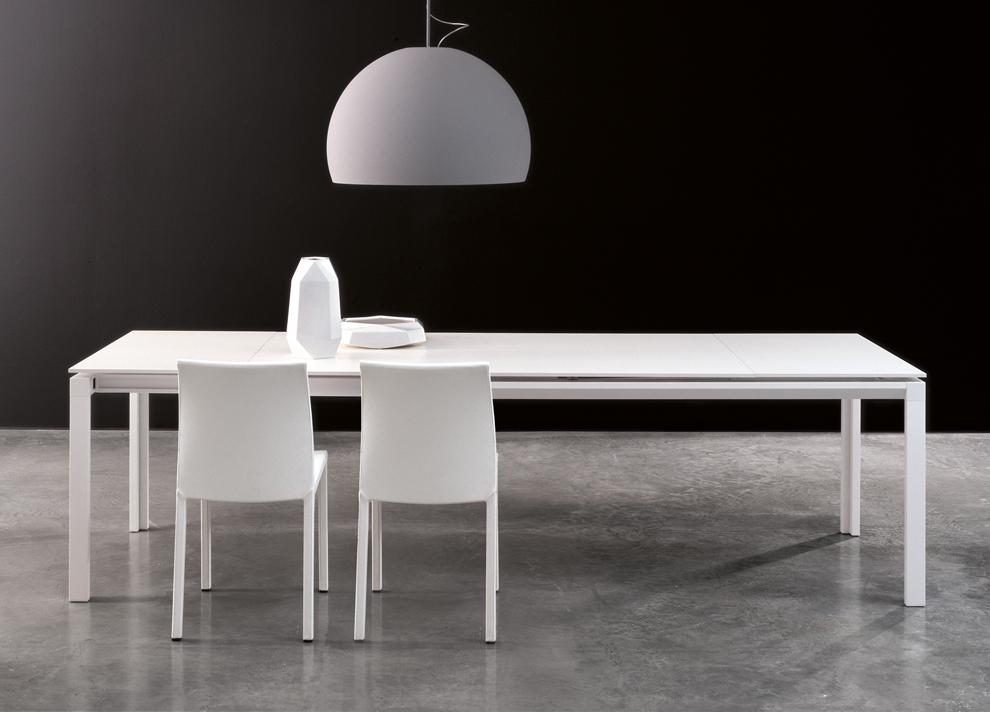 Bonaldo Chat Double Extending Dining Table Modern Extending Tables