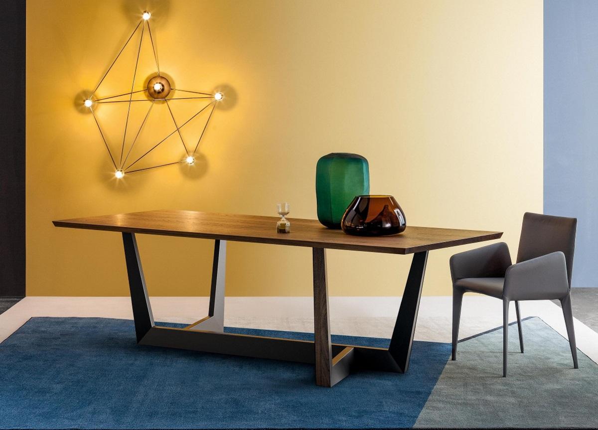 bonaldo art dining table large