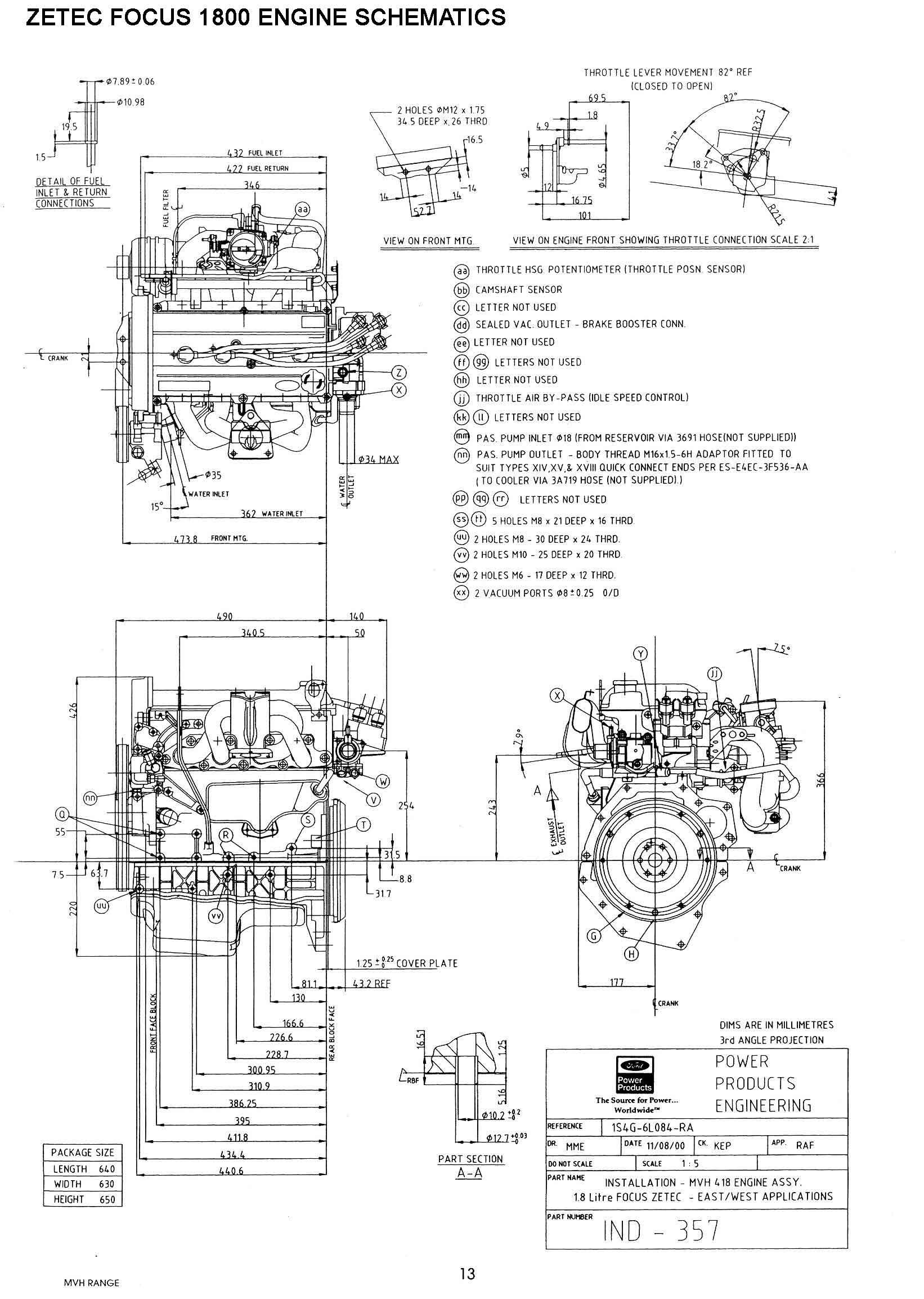 Ford Focus Svt Engines Parts Diagram, Ford, Free Engine