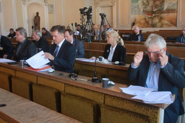 A rimaszombati képviselő-testület ülése