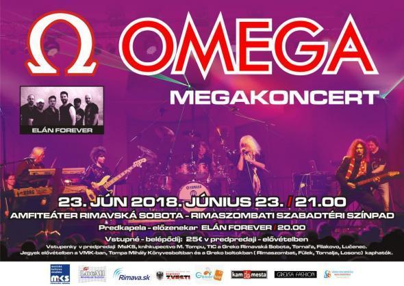 Omega koncert Rimaszombatban
