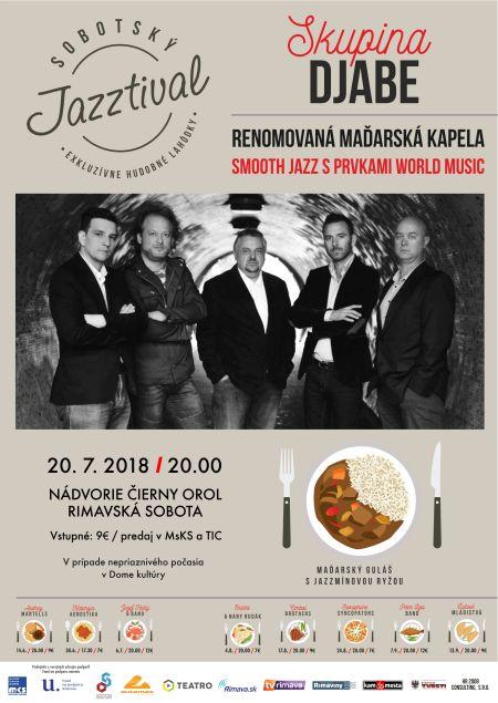 Djabe jazzkoncert Rimaszombatban