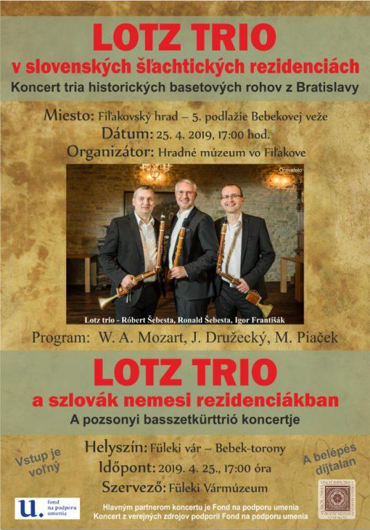 LOTZ Trió koncert a füleki vár Bebek-tornyában