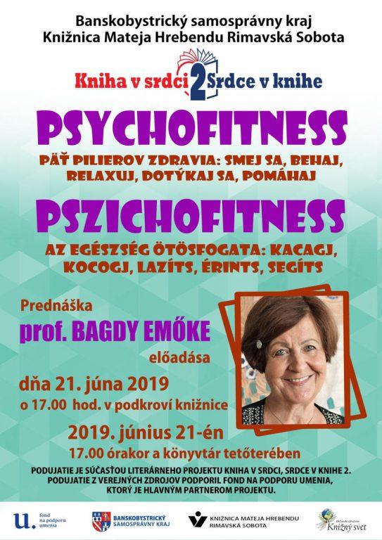 Pszichofitness - Bagdy Emőke előadása Rimaszombatban