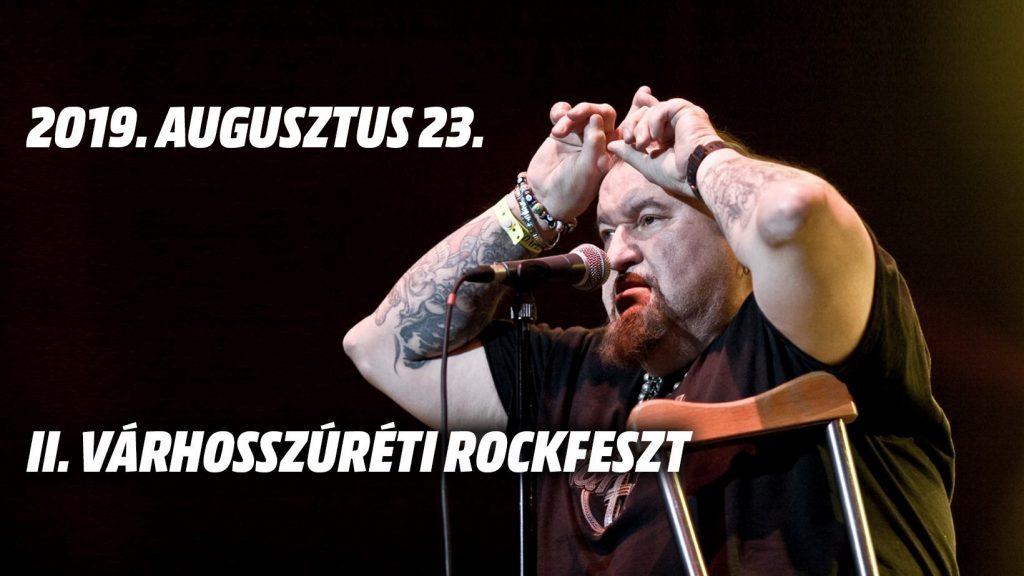 Várhosszúréti Rockfeszt - Deák Bill koncert