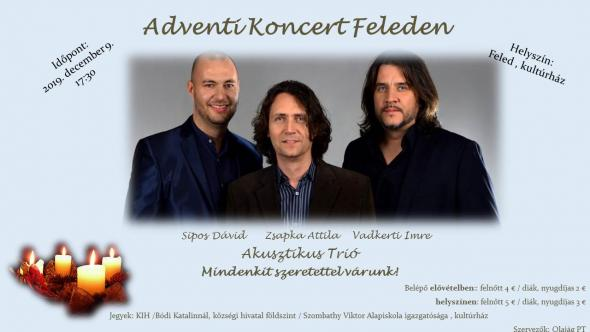 Adventi koncert Feleden