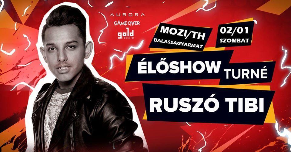 Ruszó Tibi koncertje Balassagyarmaton