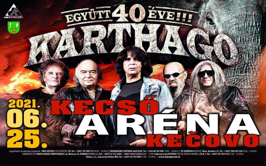 Karthago koncert a Kecső Arénában