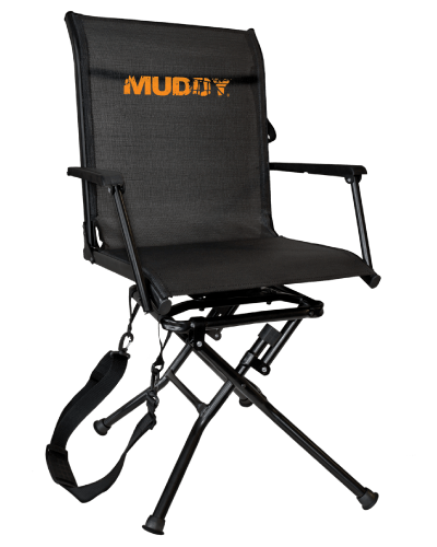 swivel chair tree stand kid muddy outdoors seats and ground mgs600 ease xtreme blind manual