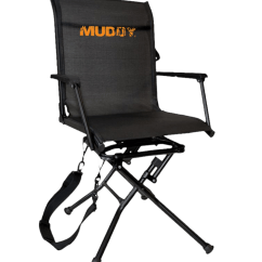 Swivel Hunting Chair Reviews La Z Boy Repair Muddy Ease Ground Seat